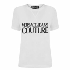 Versace Jeans Couture Contrast Logo T Shirt