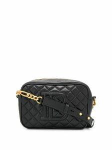 Balmain B-Camera quilted crossbody bag - Black