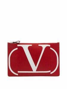 Valentino Valentino Garavani VLOGO pouch - Red