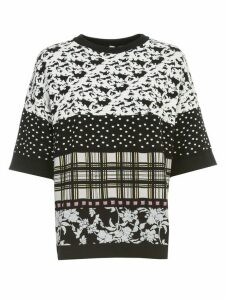 Antonio Marras Sweater S/s Crew Neck W/patch