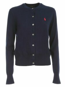 Polo Ralph Lauren Cardigan L/s Crew Neck Cotton