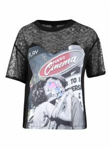 Pinko Lace Inserts T-shirt