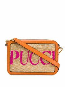 Emilio Pucci logo cross-body bag - NEUTRALS