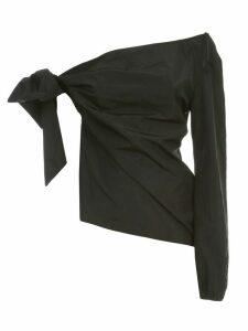 N.21 Single Shoulder Shirt Taffetas