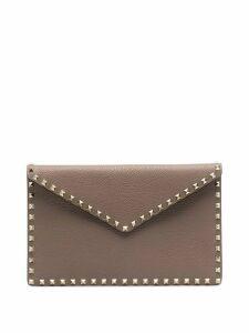 Valentino Valentino Garavani Rockstud envelope pouch - Grey