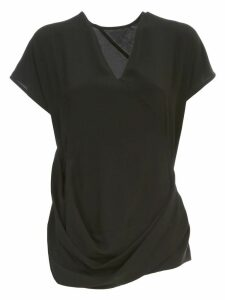 Rick Owens V Draped Top Tunic