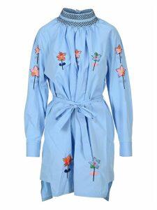 Prada Embroidered Dress