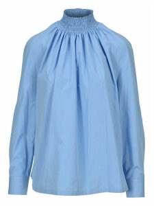 Prada High Neck Blouse