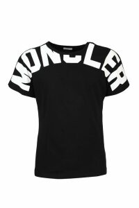 Moncler Black cotton T-shirt