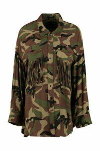 R13 Fringed Western-style Shirt