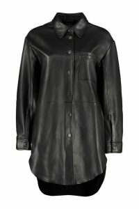 Pinko Seadas Leather Overshirt