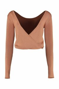 Forte Forte Long Sleeves Crop Top