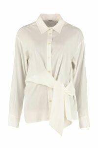 Parosh Long-sleeved Silk Shirt