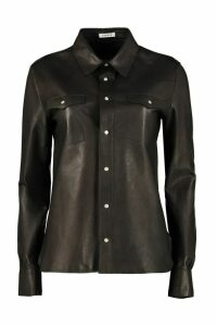 Parosh Leather Shirt
