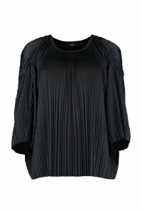 Weekend Max Mara Fiocchi Pleated Jersey Blouse