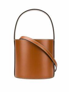 Staud Mini Bissett bucket bag - Brown