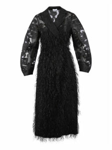 Ganni Feathery Coat