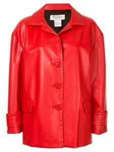 We11done oversized jacket - Red