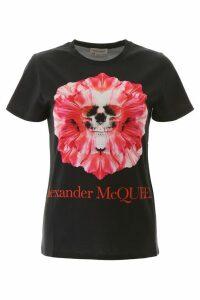 Alexander McQueen Skull Flower T-shirt