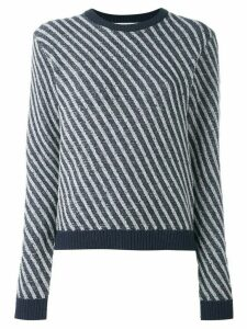Julien David striped jumper - Blue