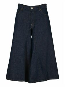Mm6 Flare Cropped Jeans