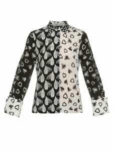 Alice + Olivia Silk Shirt