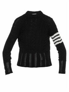 Thom Browne Aran Cable Classic Sweater