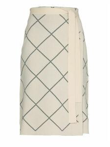 Proenza Schouler Geometrical Patterned Skirt