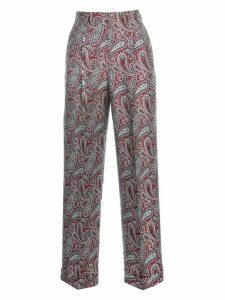 Golden Goose Pants New Sally Straight Polyester Multi