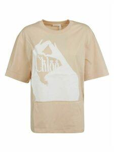 Chloé Printed Detail T-shirt