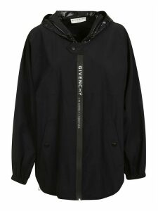 Givenchy Logo Front Oversized Hoodie