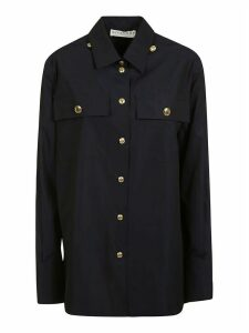 Givenchy Dual Flap Buttoned Pocket Buttoned Shirt