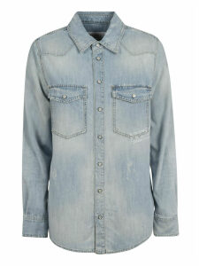 Givenchy Denim Dual Patched Pocket Shirt