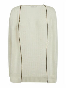 Saint Laurent Open Ribbed Cardigan