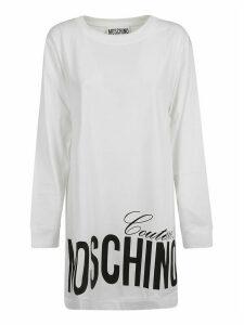 Moschino Bottom Logo Print Dress