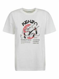 Kenzo Mouse Logo Print T-shirt