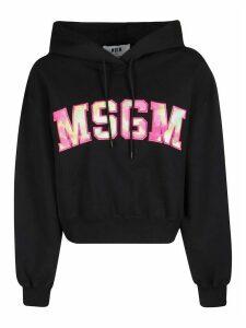 MSGM Logo Patch Hoodie