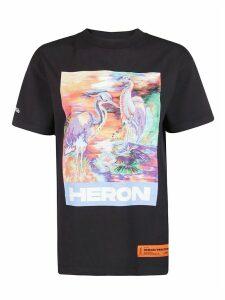HERON PRESTON Graphic Print T-shirt