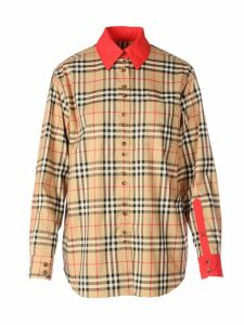Burberry Strech Cotton Shirt