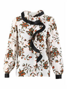 Tory Burch Floral Print Blouse