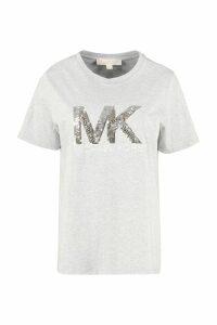Michael Kors Logo Print Cotton T-shirt