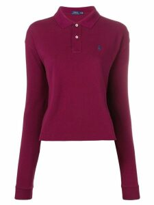 Polo Ralph Lauren long sleeve polo shirt - Red