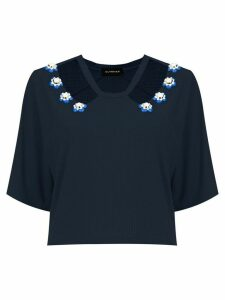 Olympiah Copa cropped top - Blue