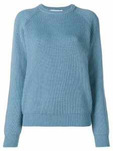 Cristaseya ribbed sweater - Blue