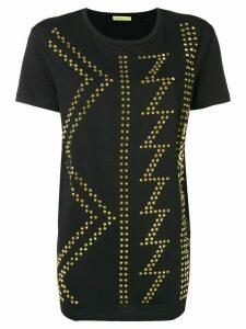 Versace Jeans Couture studded crewneck T-shirt - Black