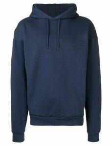 Martine Rose classic plain hoodie - Blue
