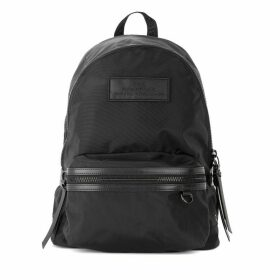 The Marc Jacobs Large Dtm Backpack In Black Nylon