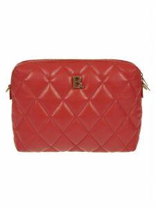 Balenciaga Logo Plaque Padded Shoulder Bag