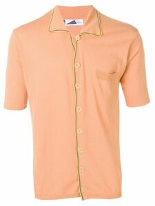 Anglozine Marcello knit shirt - ORANGE