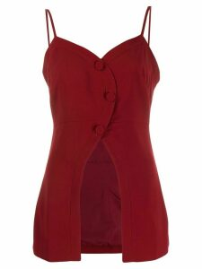 Rokh front slit top - Red